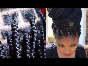 Awesome No - Knot Box Braid Extension Technique