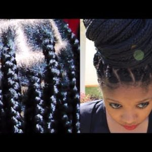 Awesome No – Knot Box Braid Extension Technique