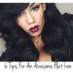 6 Tips to Safely Flat Iron Natural Hair
