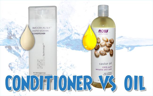 Conditioner vs oil for prepooing