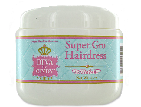 Diva By Cindy Super Gro Hair Dress
