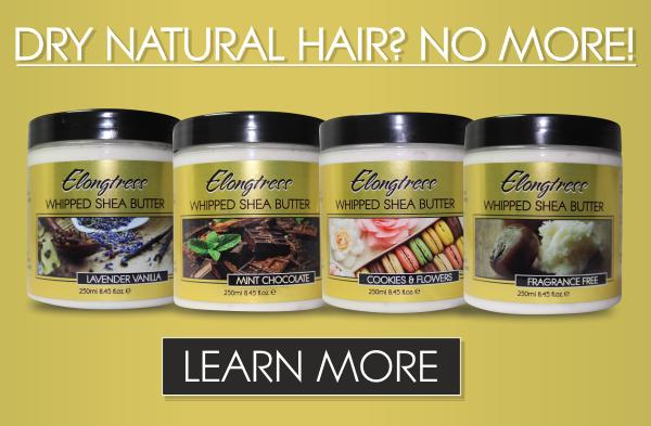 Elongtress Whipped Shea Butter For Dry Natural Hair mobile