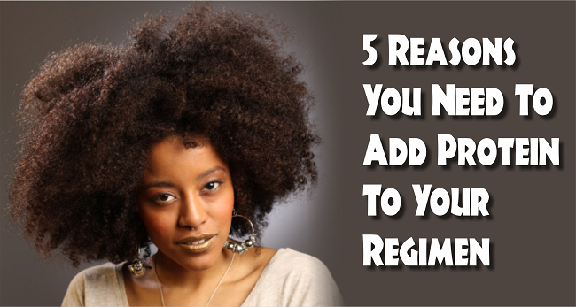 Get Educated- 5 Reasons You Need To Add Protein To Your Natural Hair Regimen This Winter