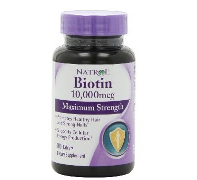 Natrol Biotin 10000 mcg Maximum Strength Tablets