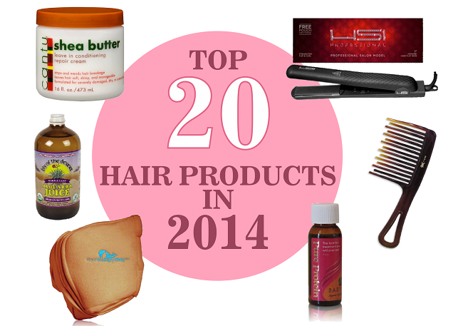 Top 20 Hair Products In 2014
