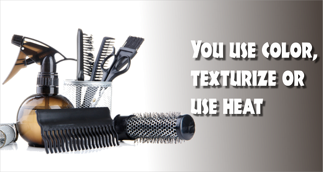 You use color texturize or use heat