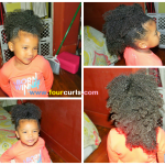 Fro Hawk Made With Three Ponytails Shared By Denise Rachel Jones