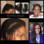 From Brittle Relaxed Hair To Healthy Natural Hair Shared By Ameka Coleman