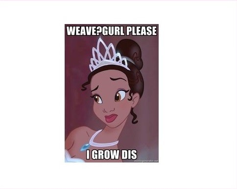 princess tiana i grow dis