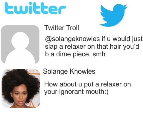 solange twitter troll
