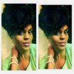 Classy Curly Bun Shared By LaRhonda Norman