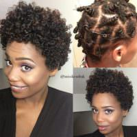 Cutest Bantu Knot Out Ever!