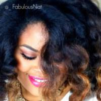 Beautiful Curl Wand Curls On Natural Hair Shared By _FabulousNat