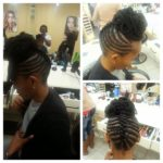 Cornrows And Crochet Braids Shared By Jessica Mclennan