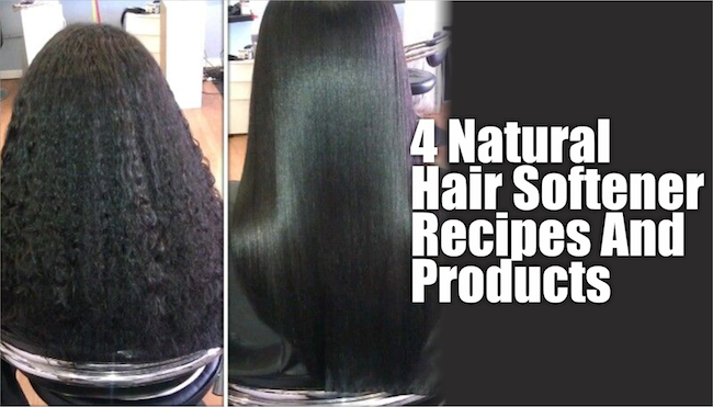 4 Natural Hair Softener Recipes And Products