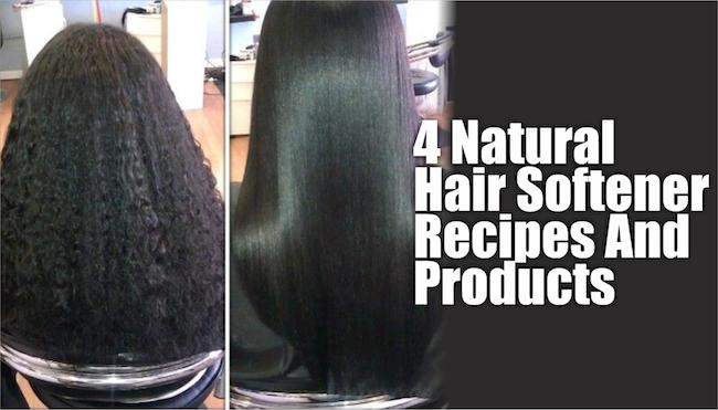 Natural Hair Softener For Black Hair
