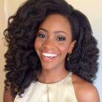 The Stunning Teyonnah…. Heat free hair?