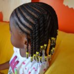 Cornrows And Twists With Beads Shared By Kinkxstudio