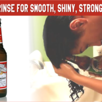 Back to Basics: Use a Beer Rinse for Smooth, Shiny, Stronger Hair