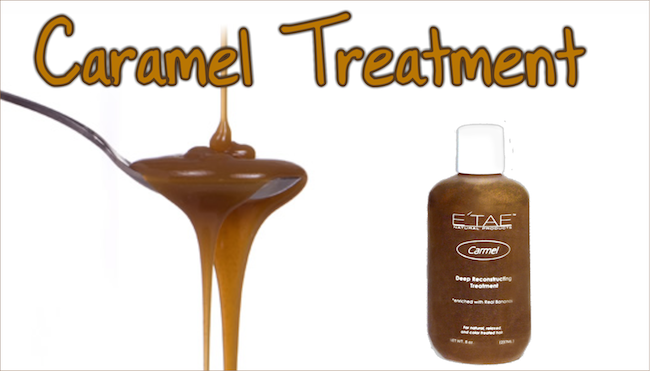 Caramel treatment