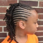 Braided Mohawk With Two Strand Twists Shared By Kinkxstudio