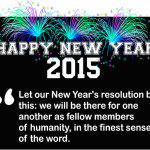 Happy New Year! I wish you all the success and happiness in 2015