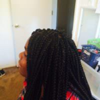 Boxed Braids shared by Shana