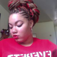 Mohawk Senegalese Twists Shared By Ty'Sheena Currin (Done Herself)
