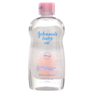 Johnson's baby oil image