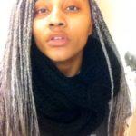 Grey Box Braids Shared By Yasnia