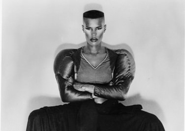 1980 - Grace Jones Signature Fade flat top
