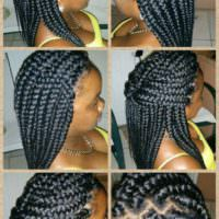 More Lovely Chunky Braids