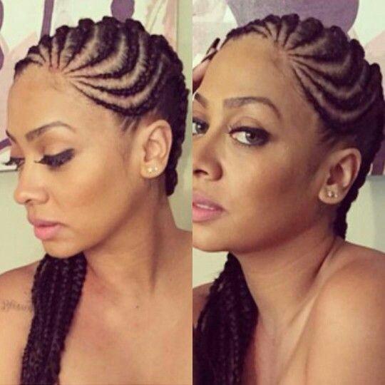 Astounding 8 Big Corn Row Styles We Are Loving On Pinterest Hairstyle Inspiration Daily Dogsangcom