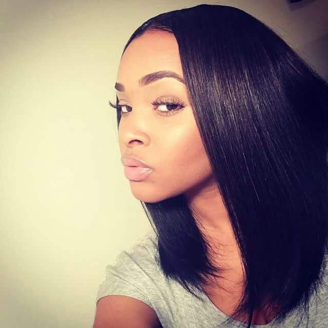 how to cut split ends on relaxed black hair