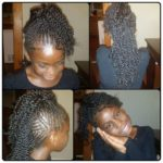 Braided/Twisted Fauxhawk Shared By Shamika Harrison