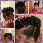 Rope Twist Bond With Flat Twists Updo Shared By Shaneria Mosley