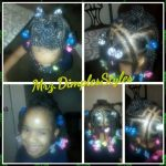 Two Strand Twists With A Flower Pin Up Shared By Shaneria Mosley