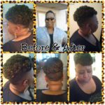 Crochet Braid Updo Shared By Shaneria Mosley