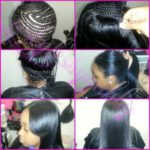 Weaves And Extensions shared By Gabby Mahair