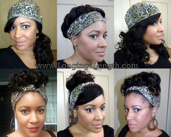 Satin Headwraps For Natural Hair