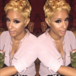 Blonde Pixie Poppin Color @veediddy