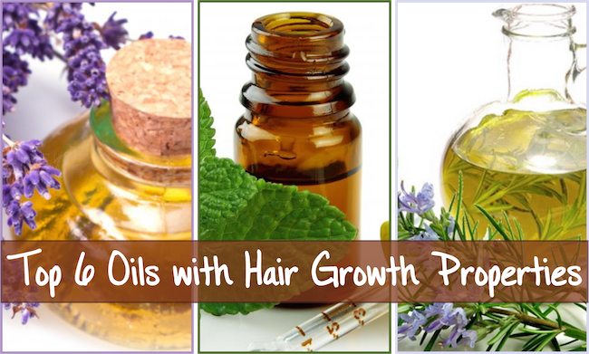 Top 6 Oils with Hair Growth Properties