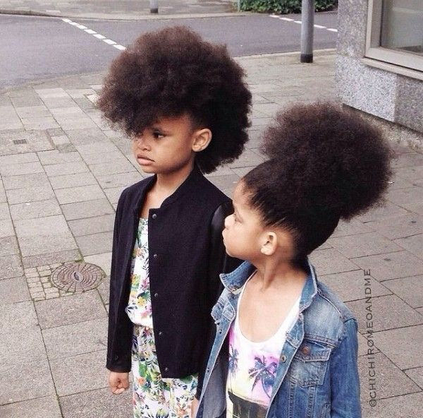 10 Pictures Of Little Natural Haired Sisters That Will