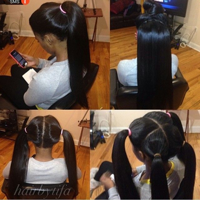 Pics Photos - Full Sew In Weave With No Hair Out Design