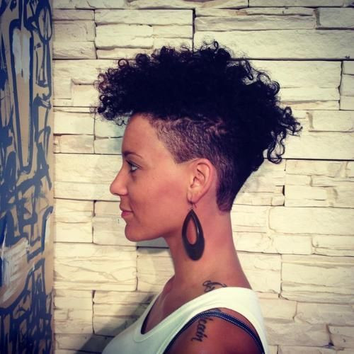 Would You Rock A Fade 20 Of The Hottest Natural Hair