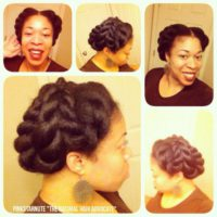 Give Me A French Twist Shared By @Naturalhair_Pinkstarnute