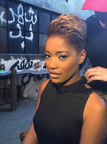 keke palmer hair styles keke palmer s has found herself in new hair color 2465