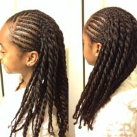 Lovely Cornrows And Twists – @shayshayShanell