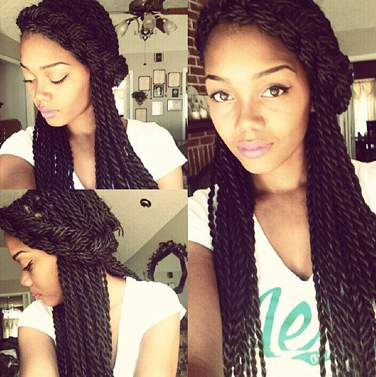 Cute Hairstyles For Micro Twists 56
