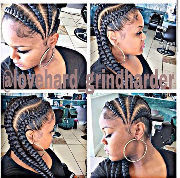 Swell Beautiful Big Cornrows Black Hair Information Hairstyle Inspiration Daily Dogsangcom